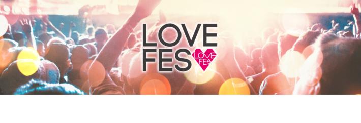 街コンのイベント「ラブフェス(LOVE FES)」のバナー画像
