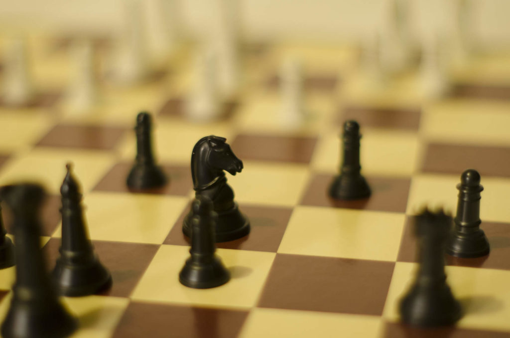 ボードゲーム「チェス」の画像
