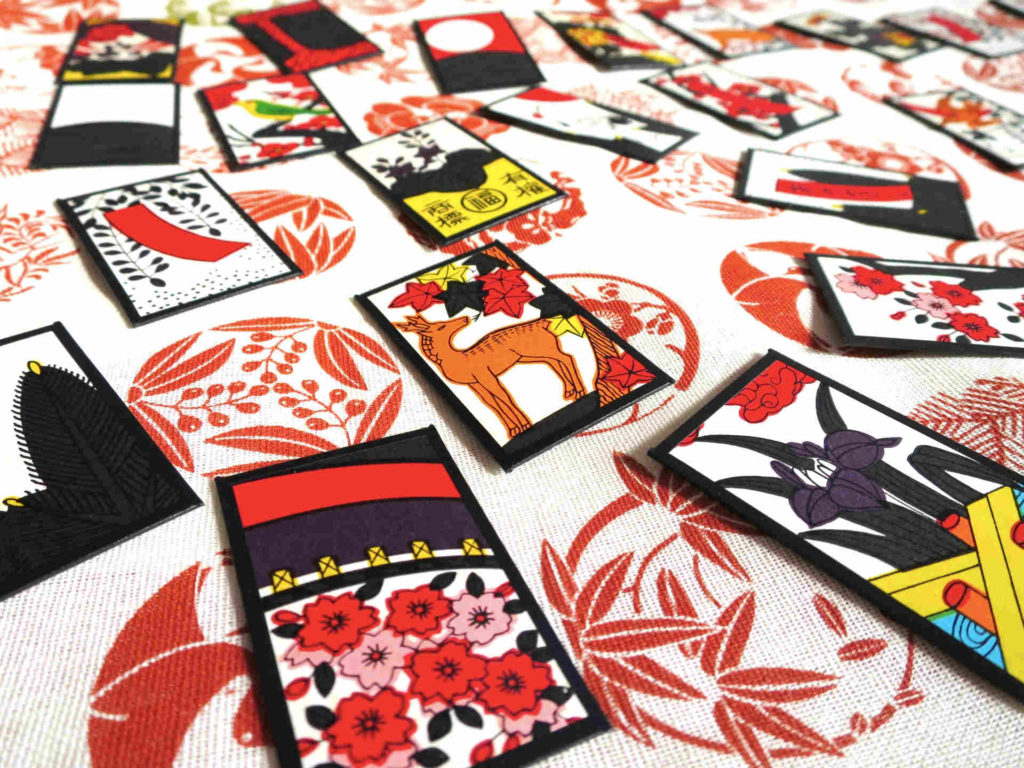 カードゲーム「花札」の画像