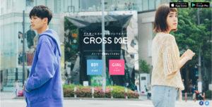 クロスミーのサイト画像